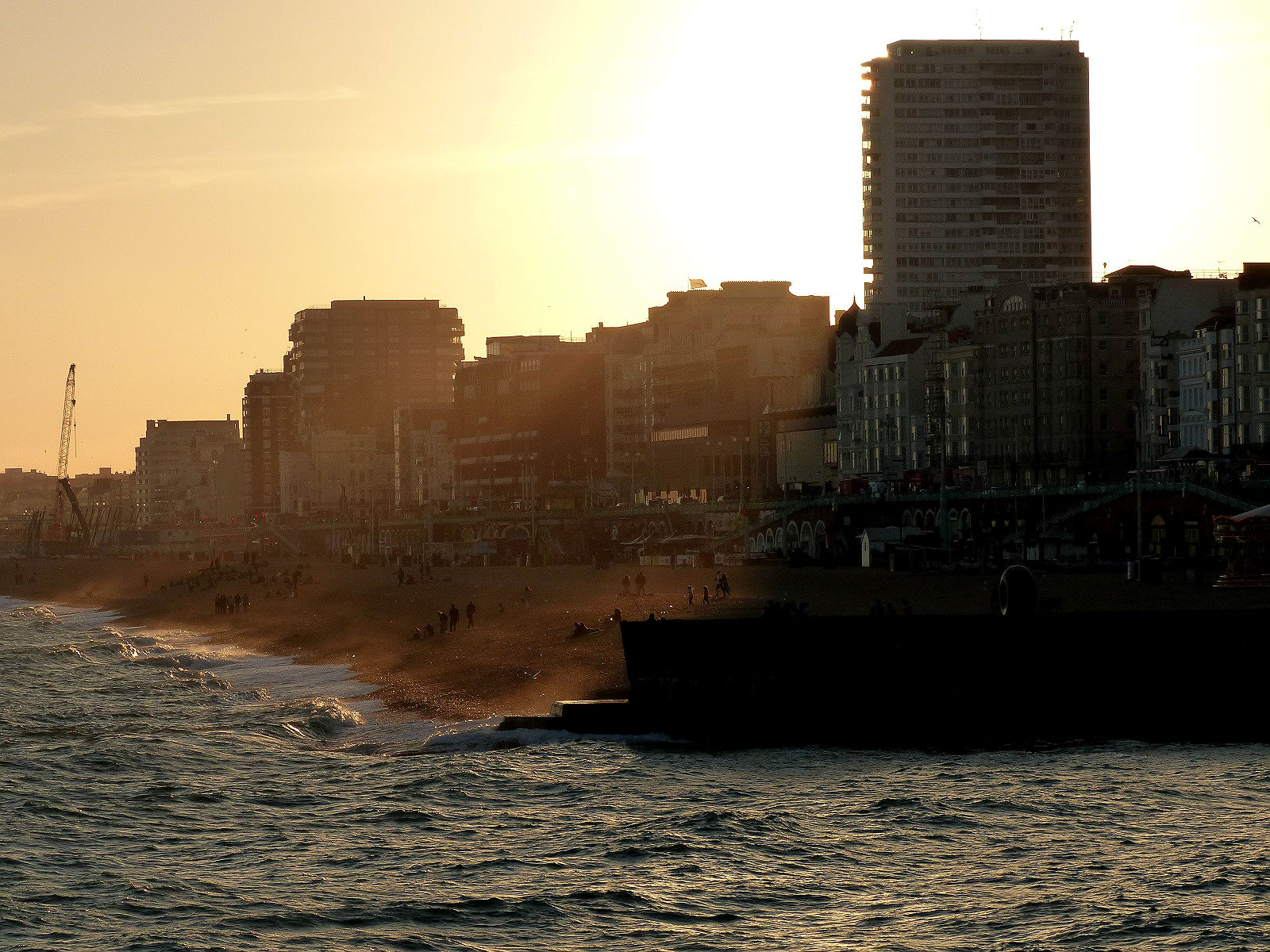 Brighton Sunset - Free Beginner Photography Course